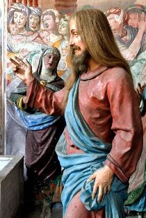 Maria chiede a Gesù la resurrezione di Lazzaro