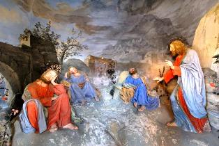 Gesù sveglia gli apostoli