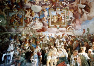 Melchiorre Gherardini affreschi cappella 37