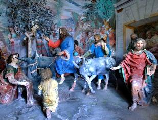 19 – L'entrata in Gerusalemme e la Porta Aurea