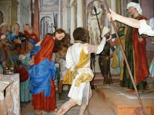 27 – Gesù al tribunale di Pilato