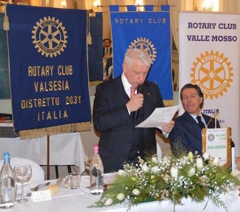 Presidente Nazionale Giovani Imprenditori e Vicepresidente Confindustria, Marco Gay, Ospite al Rotary Valsesia