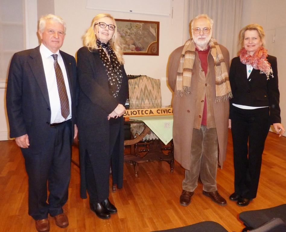 Leonardo al Rotary Club Valsesia