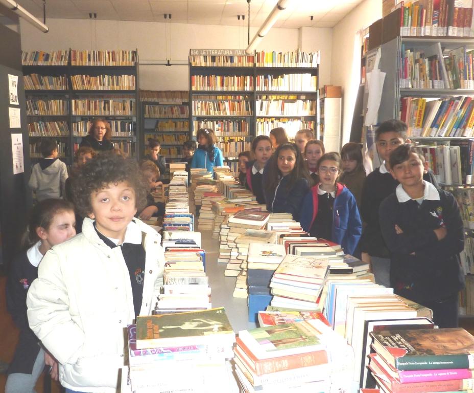 Roccapietra: Dalla I alla IV in Biblioteca a Varallo