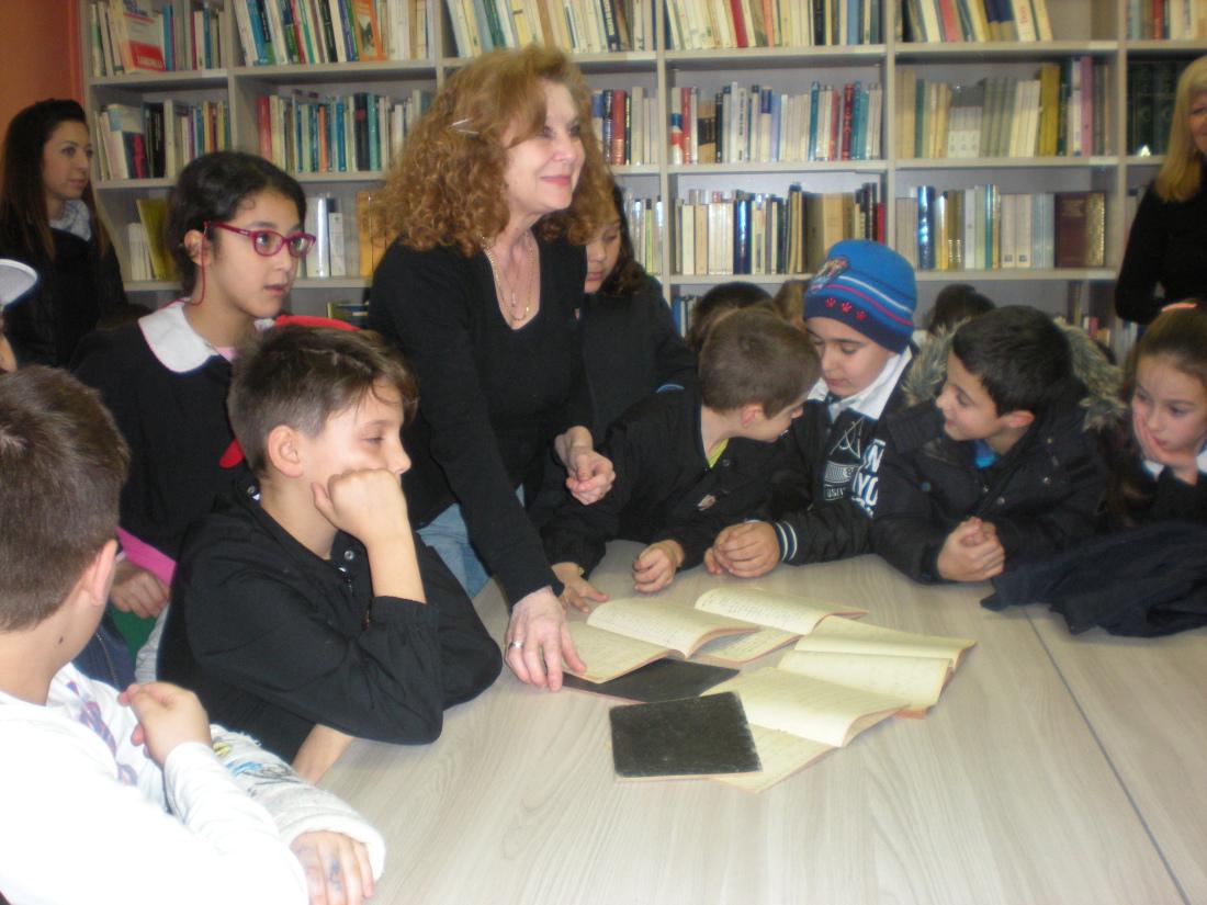 Rovasenda GIORNATA IN BIBLIOTECA con i Bambini delle Scuola Primaria e dell'Infanzia