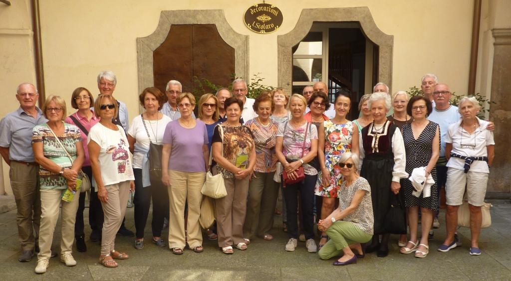 Visita di un Gruppo Valtellinese in Biblioteca a Varallo