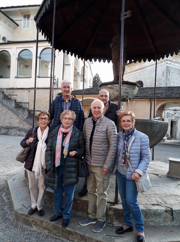 Pellegrini al Sacro Monte