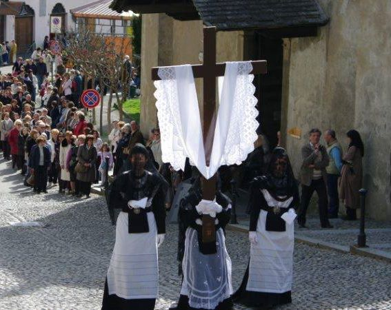 La processione delle Sette Marie