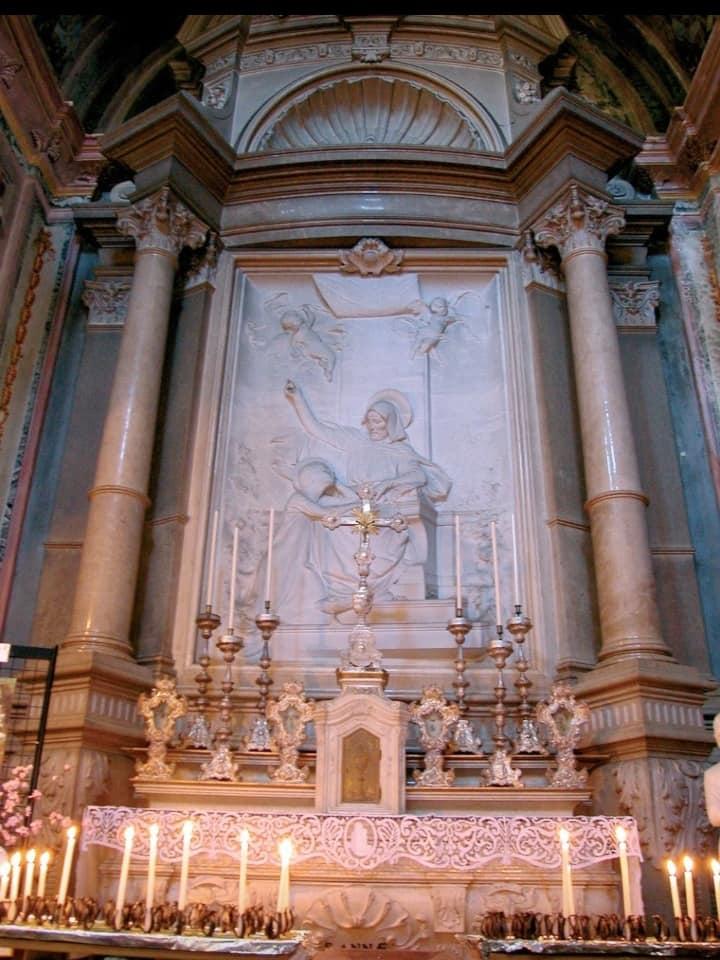 L' altare di S.Anna