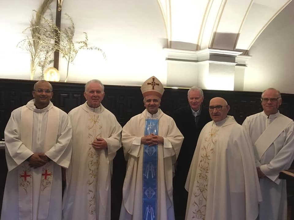 Arcivescovo di Modena, Mons. Erio Castellucci, al Sacro Monte