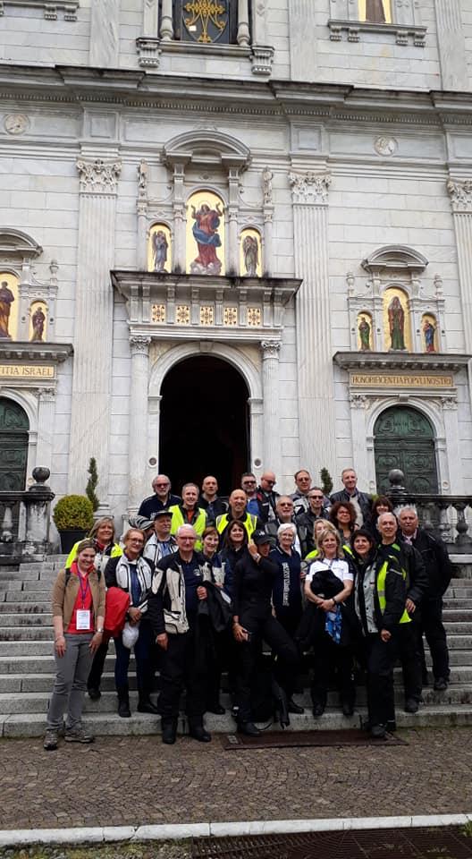 Motoamatori al Sacro Monte